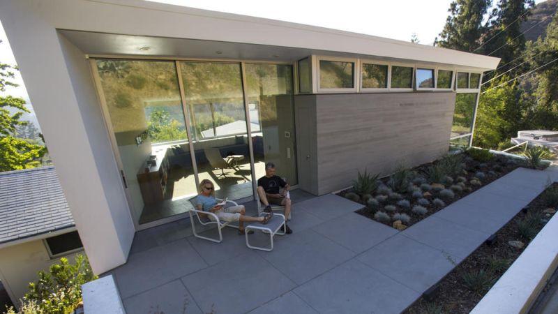 Eco-conscious couple renovates their home to preserve Griffith Park