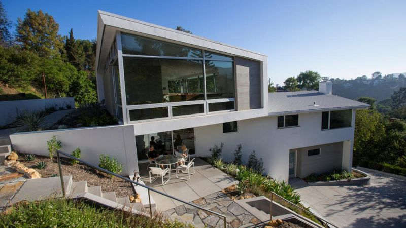Eco-conscious couple renovates their home to preserve Griffith Park