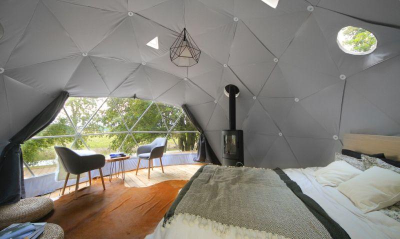 F.Ḍomes DIY geodesic dome