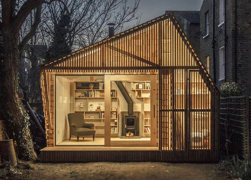 Fairytale writer's shed by Surman Weston