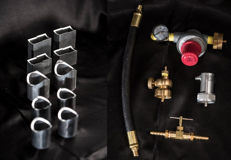 Mapped valves and tubes