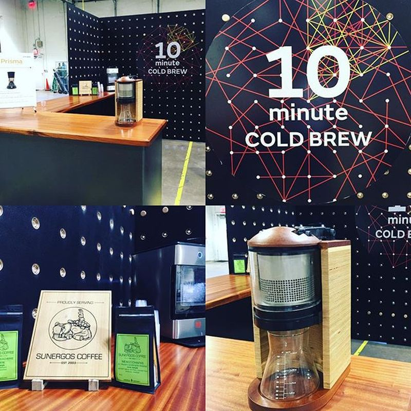 Get cold coffee brewed in 10 minutes with Prisma Cold Brew