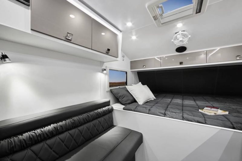 Energy efficient van with all comfortable living space