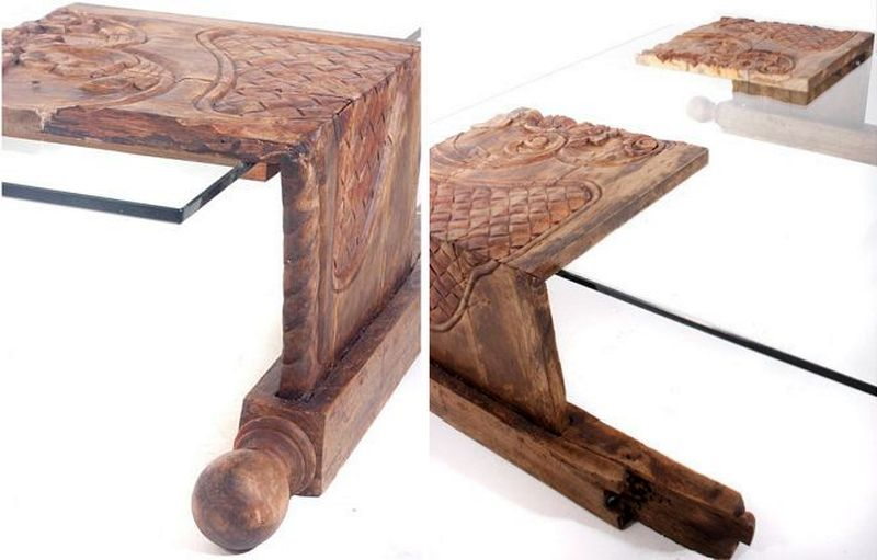 Grace Coffee Table by WasteDesigns