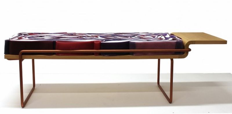Kohl Bench by Pauline Calippe