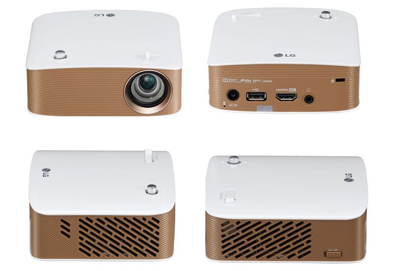 View of LG PH150G form different angles