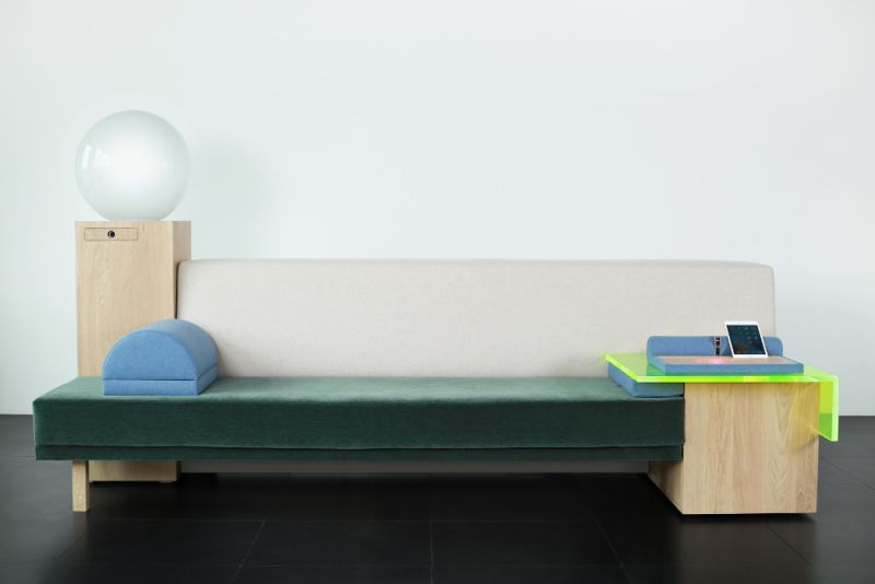 Marty Connected Sofa by Havas Group