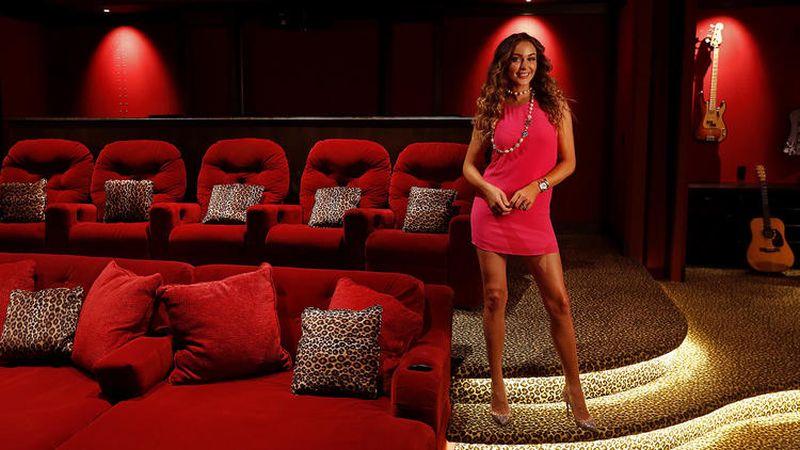 Nikki Sixx's glam-rock-inspired entertainment haven