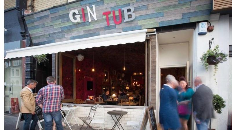The Gin Tub bar