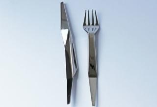 Paper Cutlery by Agnieszka Krzyzanowska