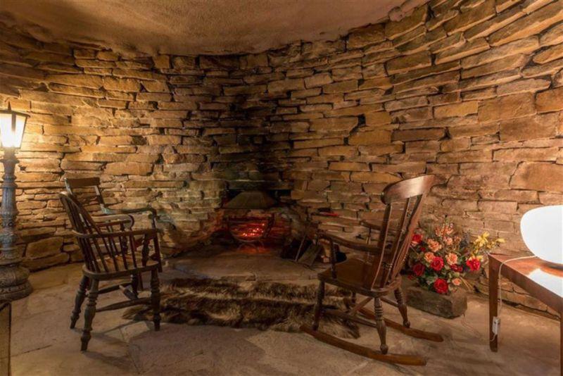 Real-life hobbit home