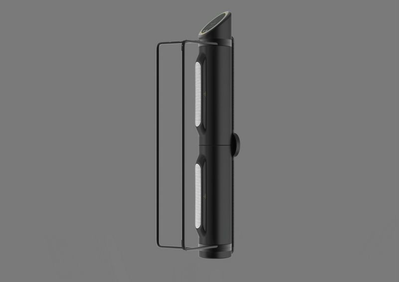 Can be wall mounted either horizontally or vertically