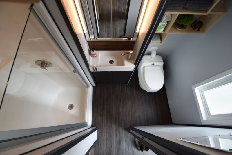 Bathroom combined with toilet