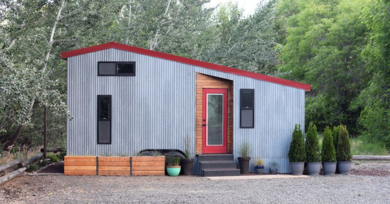 The Shed tiny house with space saving interiors