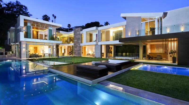 Sierra Alta Way mansion