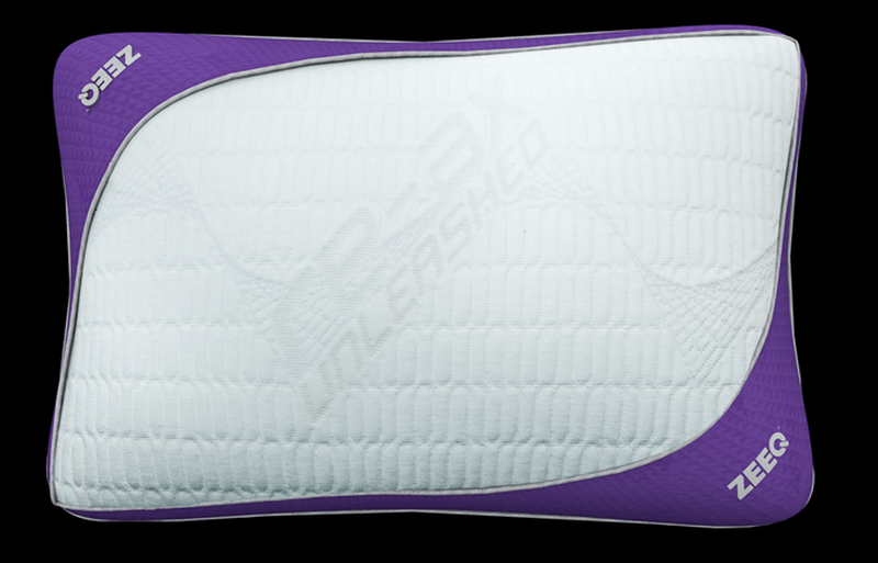 Zeeq smart pillow lets you stream music while sleeping