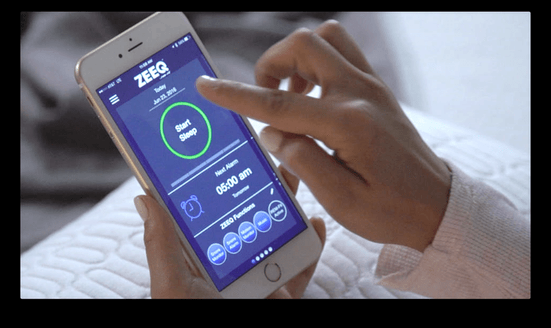 Set alarms and feed your habits in app