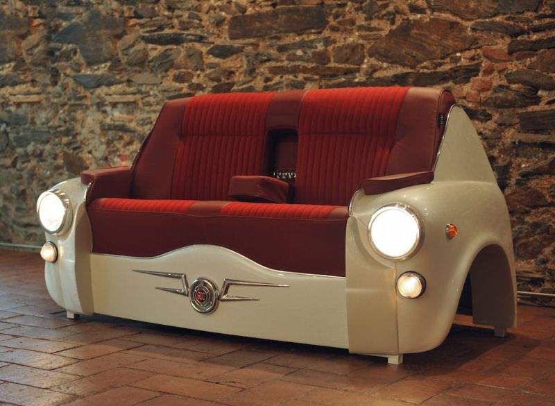 Sofa 600 Car Couch