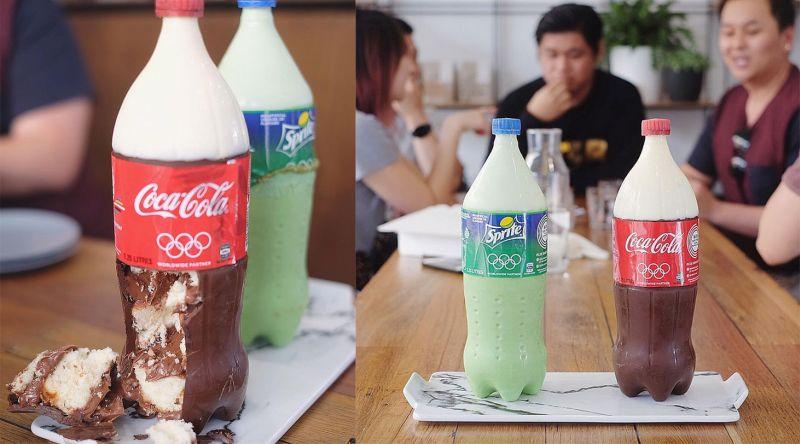 Soft Drink Bottles Cakes