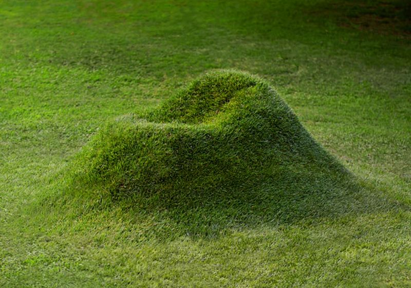 Terra grass armchair by Studio Nucleo