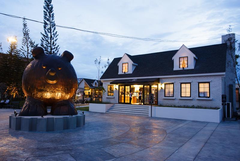 Villa de Bear Magical restaurant inspired by a teddy bear factory