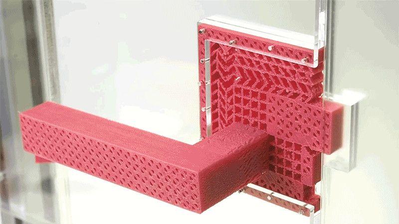 3D Printed metamaterials