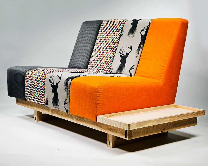 Addax Modular Sofa by Mathew Pope