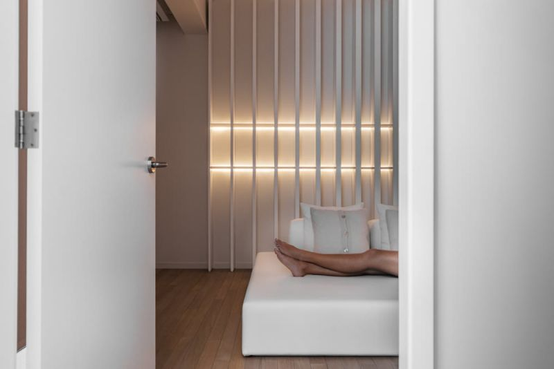 Panels with LED lighting offering apt ambiance