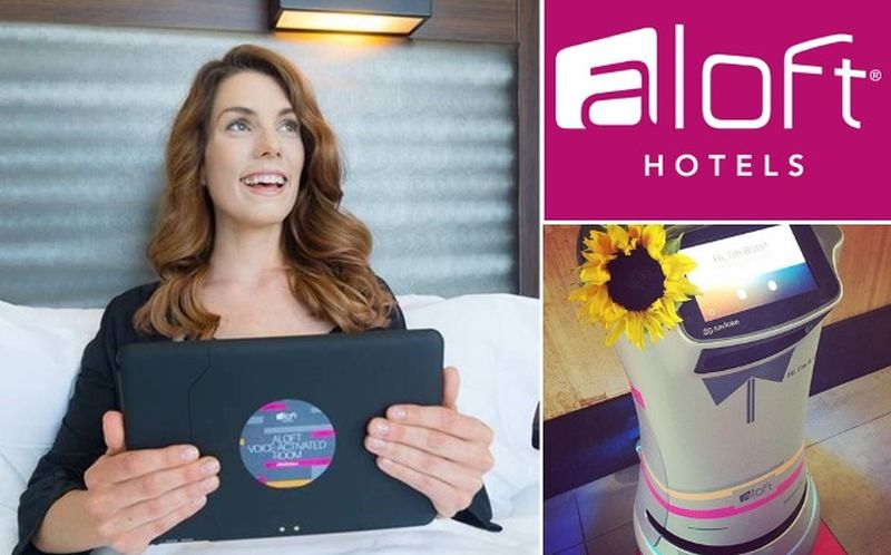 Aloft's voice-activated hotel rooms