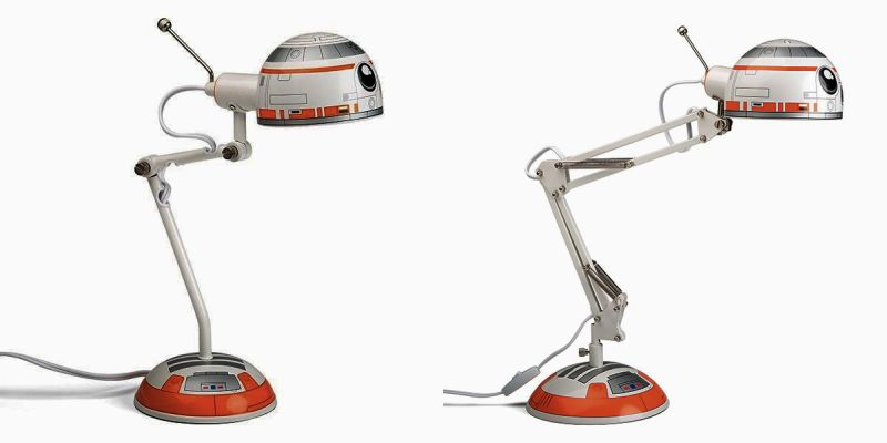 Decorate your home with robotic architecture of BB-8 desk lamp that is adjustable and placable