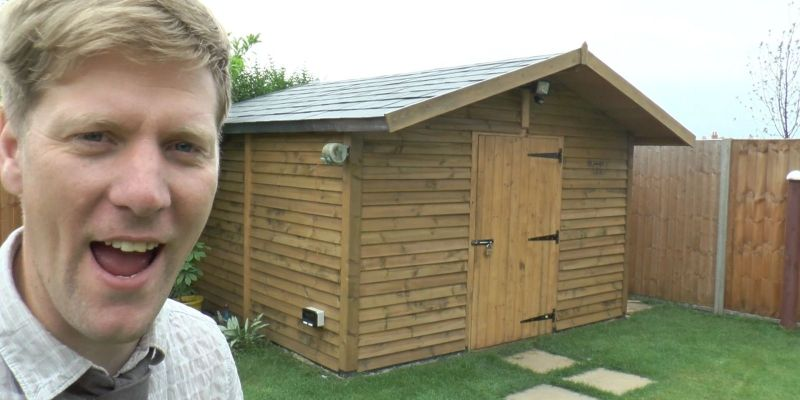 Backyard Shed by Colin Furze