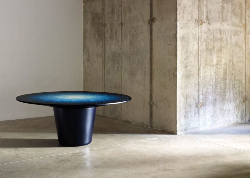 Brodie Neill uses ocean plastic for terrazzo-effect on Gyro Table