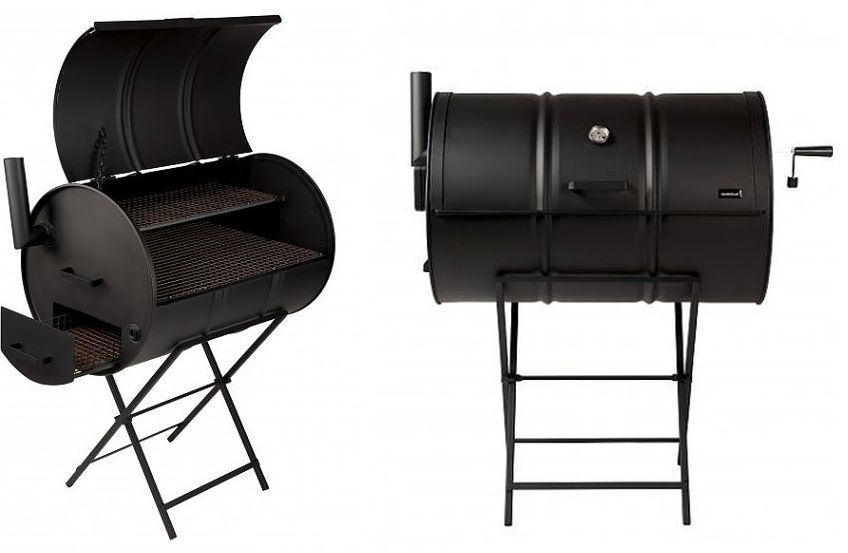 Drumbecue Charcoal BBQ Smoker