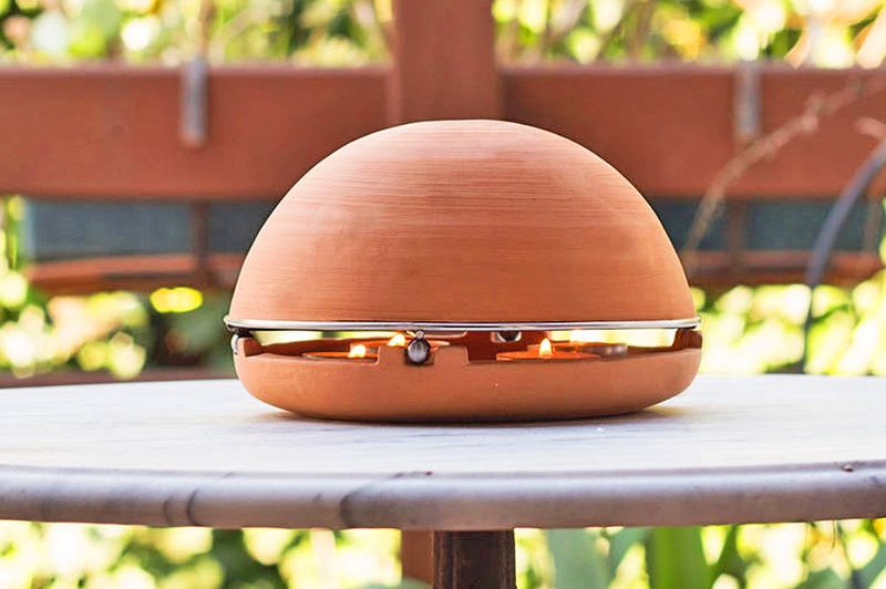 Egloo Candle-powered Heater
