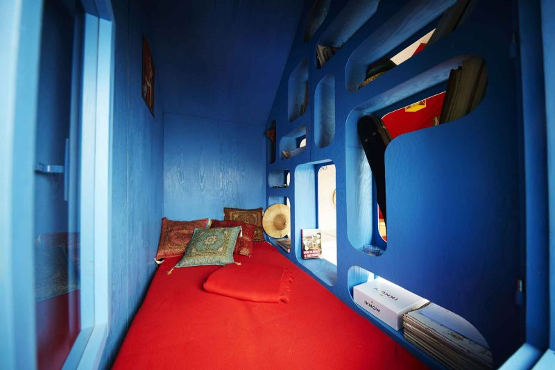 France tiny house by Joshua Woddsman has three separate living sections_6