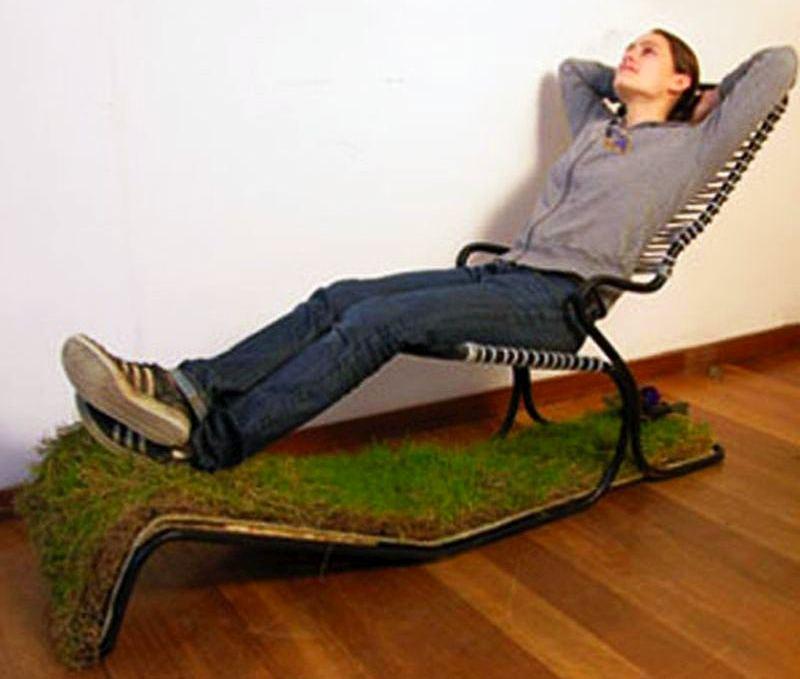 Garden chair by Lula Dot