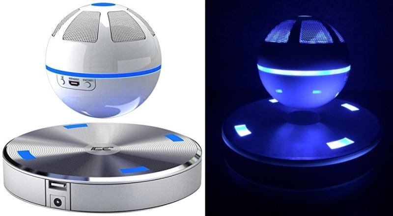 Ice levitating speaker