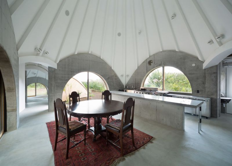 Issei Sumo designs tipi house from wooden panels_4