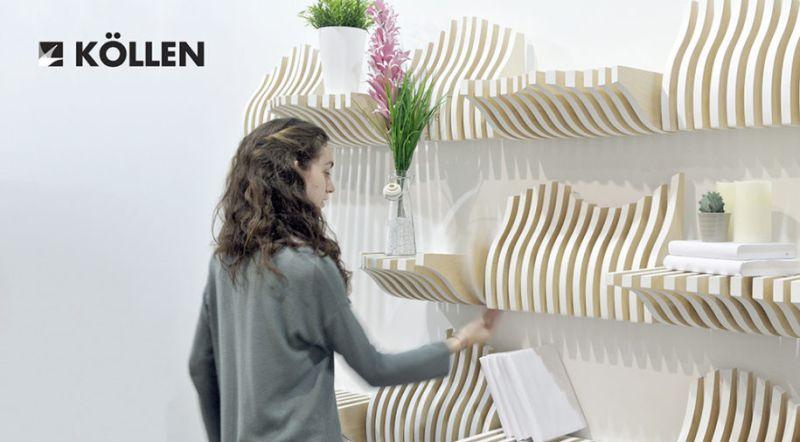 Köllen bookshelf