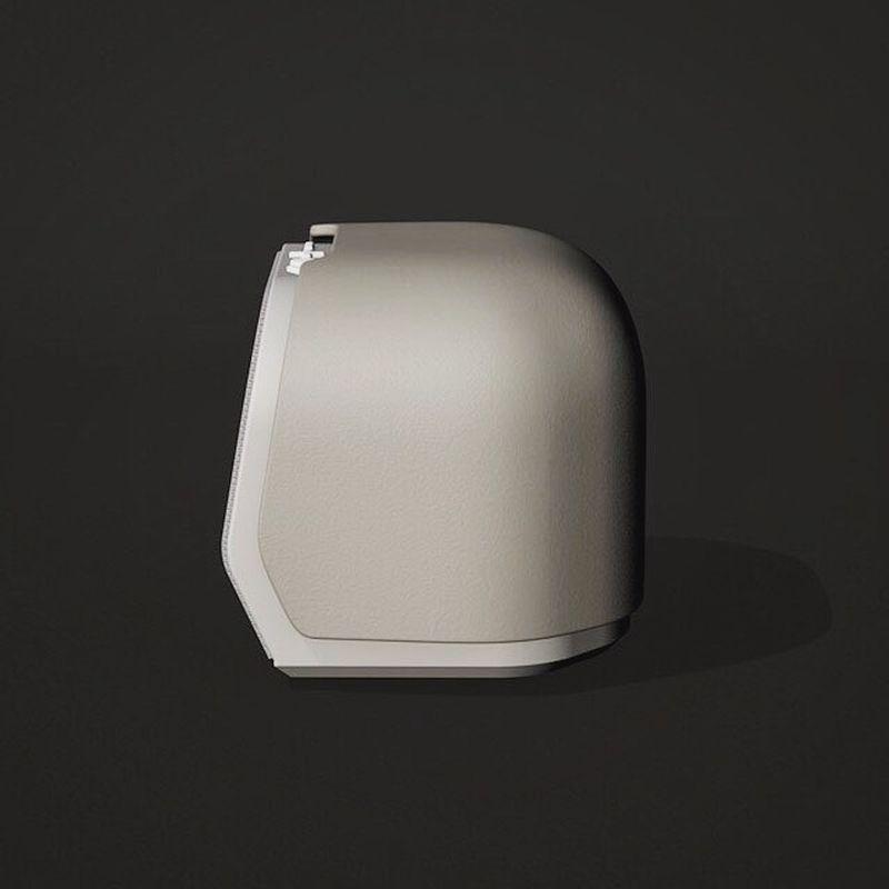 Side look of the smart alarm clock