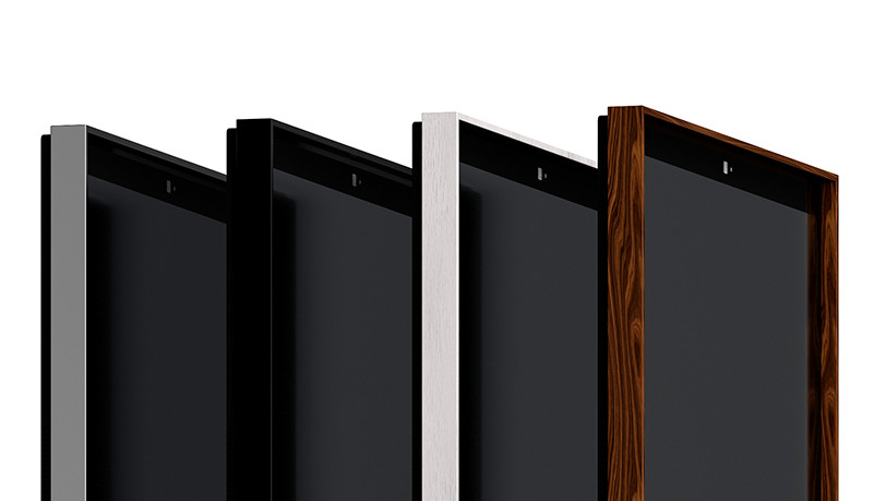 Customizable frames and available in four colors