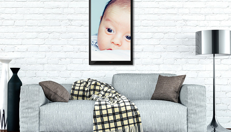 Can be used as picture frame to show your images