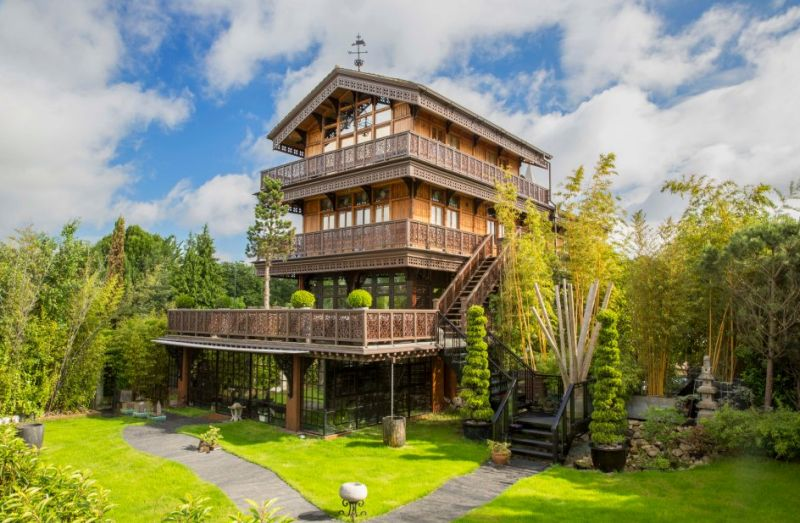 Luxury Swiss Chalet in a London Suburb