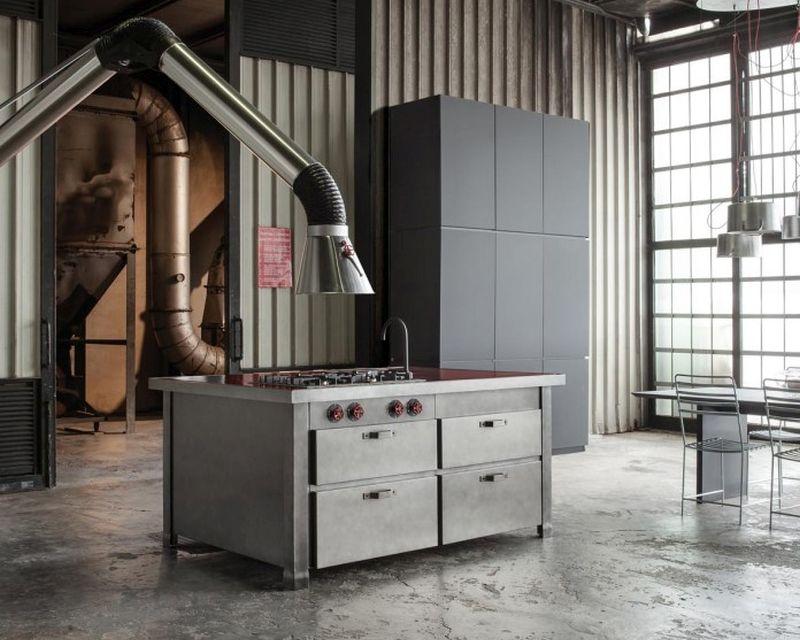 Minà kitchen by Minacciolo