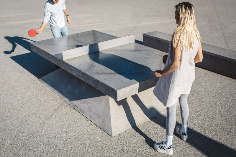 Combination of design and architecture in recreational stuff