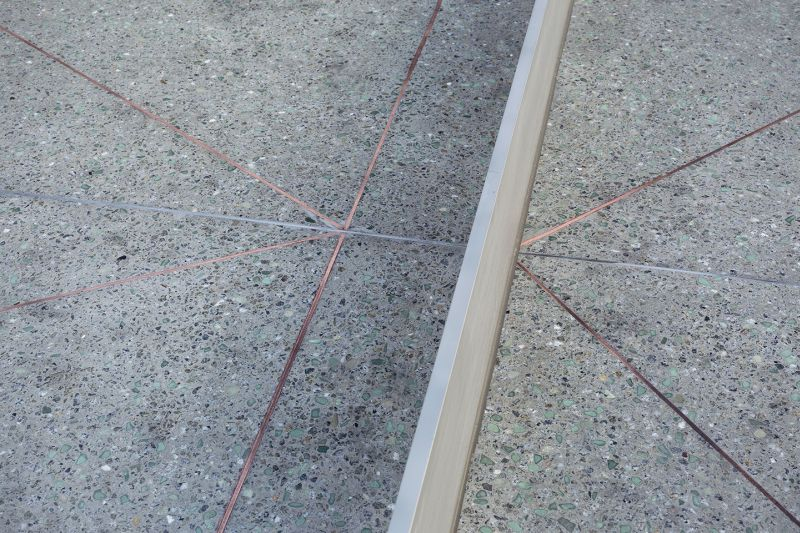 Diamond copper inlays