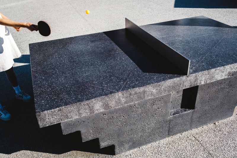 Polished upper surface perfect for recreation
