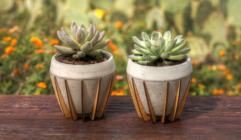 22 concrete planters built to last