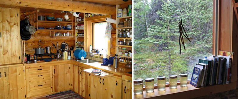 Enough space for keeping preserves safe during summers