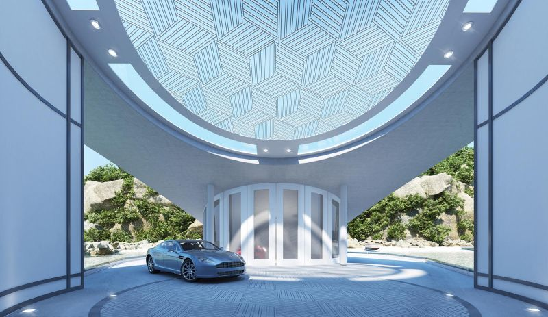 This luxury floating home by Tangram 3Ds looks just like a Stingray_12